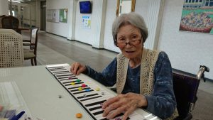 90歳の受講者